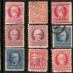 Timbre Cuba 1917 st.