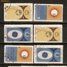 Timbre Cuba 1965 Eclipsa st. - Timbre straine