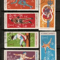 Timbre Cuba 1964 Sport Olimpiada Tokio serie st. - Timbre straine