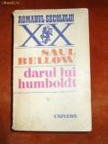 SAUL BELLOW ,  DARUL LUI HUMBOLDT