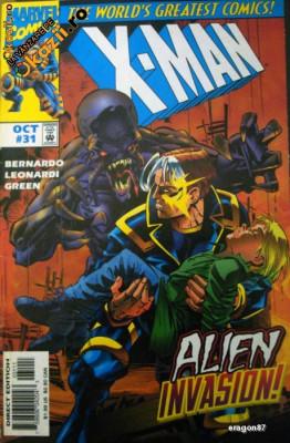 X-Man #31 X-Men . Marvel Comics foto