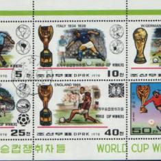 Korea-Fotbal Cupa Mondiala 1978 - Timbre straine