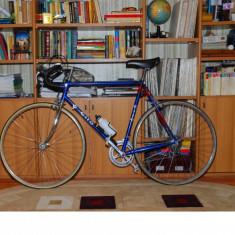 Vintage - Cursiera elvetiana CILO - Bicicleta retro, 18 inch, 28 inch, Otel, Albastru