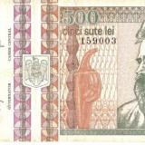 ROMANIA 500 Lei / 1992 - Bancnota romaneasca