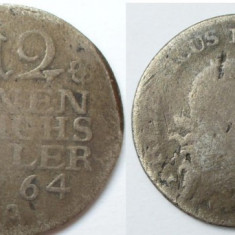 Prusia 1/12 thaler 1764 A