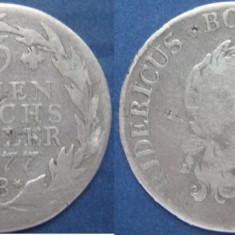 Prusia 1/3 thaler 1777 B
