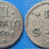 Brunswick Wolfenbuttel 4 pfennige 1760 IDB - Moneda Medievala