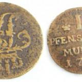 Prusia 1 pfennig 1752 A - Moneda Medievala