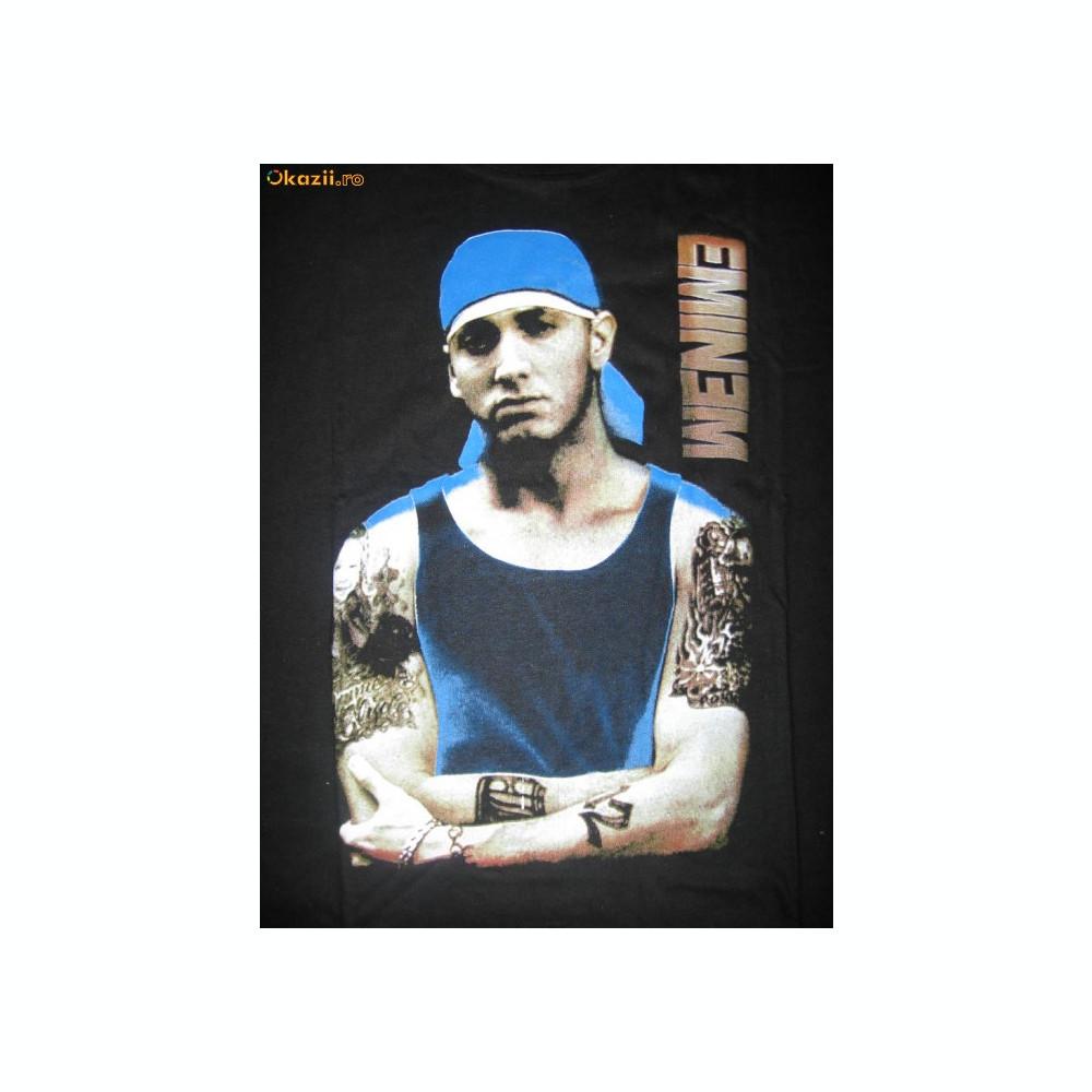 calitate stabilă jumatate din bun Tricou T-shirt Hip Hop Rap Eminem Barbat Femei   arhiva Okazii.ro