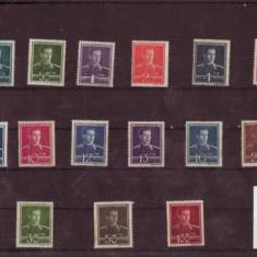 TIMBRE REGELE MIHAI 1940-1942 15 v. - Timbre Romania, Nestampilat