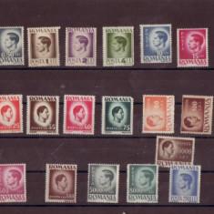 TIMBRE REGELE MIHAI 1945 - Timbre Romania, Nestampilat