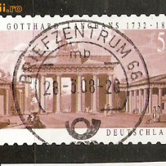 Timbre Germania 2007 Serie stampilata - Timbre straine