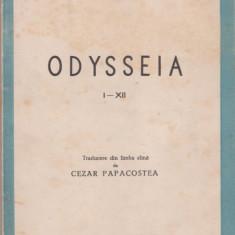Homer / ODYSSEIA (ed.1944, trad.C.Papacostea) - Carte veche