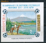 RFL Albania 1970 colita neuzata sport fotbal
