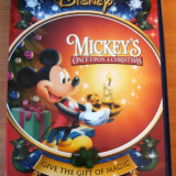 Mickey Mouse's Once Upon A Christmas DVD