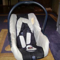 Scaun auto copii Primii Pasi, 0+ (0-13 kg), Isofix