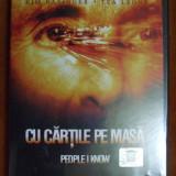 DVD ORIGINAL ''CU CARTILE PE MASA'' (viorel)