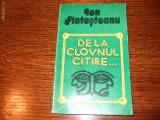 Ion Fintesteanu - De la clovnul citire...