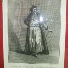 Gravura Gentilhomme Valaque 1750 - Pictor strain