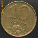 Ungaria 10 FORINT 1989