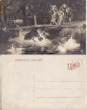 Ilustrata animale -mistret -vanatoare, Necirculata, Printata