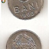 5 Bani 1966 - nichel - Moneda Romania