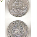 25 bani 1982 - aluminiu (stare foarte buna) - Moneda Romania