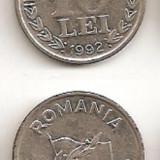10 lei 1992 (nichel) - Moneda Romania