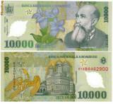 * Bancnota 10000 lei  - Romania 2000 - UNC