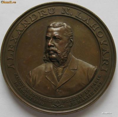 Alexandru N. Lahovari - Partidul Conservator - 1897 foto