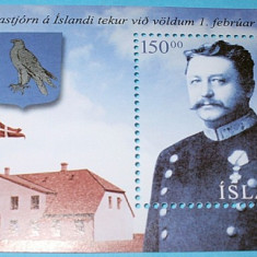 ISLANDA 2004 - ANIV. PERSONALITATI - NEUZATE - Timbre straine, Oameni, Nestampilat