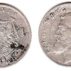 * Moneda 1 leu 1900 - Moneda Romania