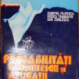 Probabilitati geometrice si aplicatii - D. Filipescu - Carte Matematica