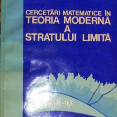 Cercetari matemateice in teoria stratului limita   M Bucur, Alta editura