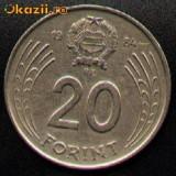 Ungaria 20 Forint 1984