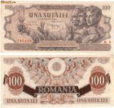 * Bancnota 100 lei 1947 august
