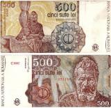 * Bancnota 500 lei 1991 - ianuarie