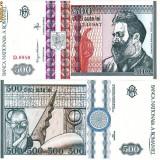 * Bancnota 500 lei 1992 - Bancnota romaneasca