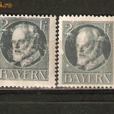 Germania BAVARIA 1916/*110A - Nestampilate