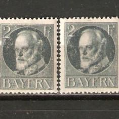 Germania BAVARIA 1916/*110A nestampilate