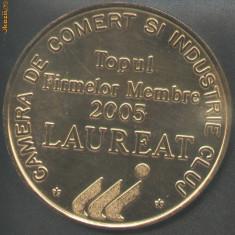 Medalie Camera de Comert si Industrie Cluj LAUREAT 2005 - Medalii Romania