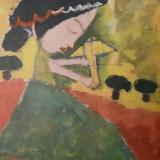 Carte postala pictura copii