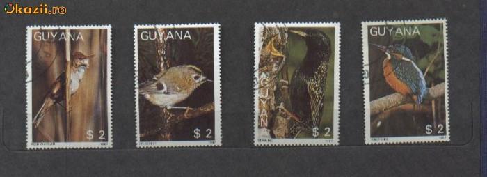 GUYANA - SERIE TIMBRE PASARI - 31