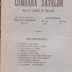 4 Reviste COMOARA SATELOR (Blaj, 1923-1927) - Carte Editie princeps