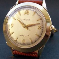 * Ceas HAMILTON AUTOMATIC 'K450' SWISS 10K GF anii '50 - Ceas barbatesc Hamilton, Mecanic-Automatic, Analog, 1970 - 1999