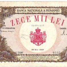 * Bancnota 10000 lei 1946 Mai - Bancnota romaneasca