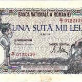* Bancnota 100000 lei 1946 - mai - Bancnota romaneasca