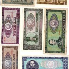* Lot bancnote 1966 - complet - Bancnota romaneasca