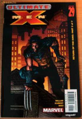 X-Men Ultimate #29 . Marvel Comics foto
