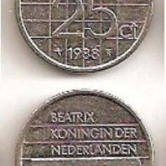 25 Centi 1988 (Olanda)